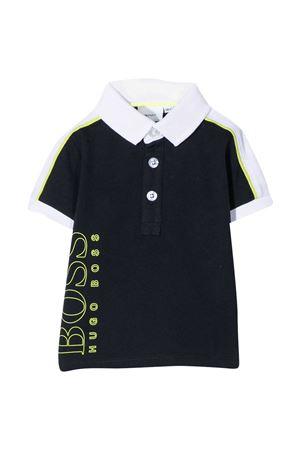 Black polo shirt Boss Kids BOSS KIDS | 8 | J05802849