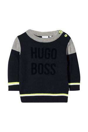Navy blue sweater Boss Kids BOSS KIDS | 7 | J05811849
