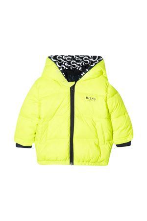 Green down jacket Boss Kids  BOSS KIDS | 783955909 | J06219552