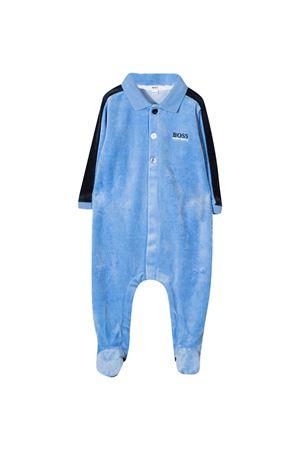 Light blue romper Boss kids BOSS KIDS | 1491434083 | J9716278L