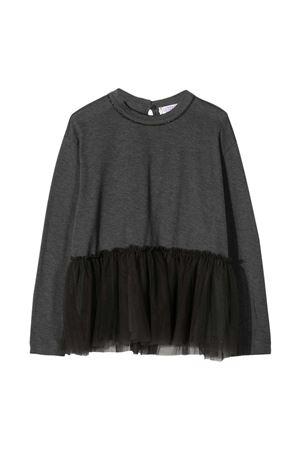 Grey teen dress Brunello Cucinelli kids Brunello Cucinelli Kids | 11 | B0045T236CZ408T
