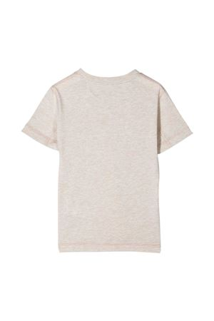 Grey t-shirt with print Brunello Cucinelli kids Brunello Cucinelli Kids | 8 | B0B13T111CC999
