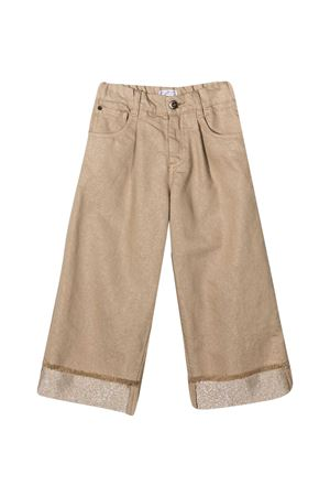 Jeans sabbia Brunello Cucinelli Kids Brunello Cucinelli Kids | 9 | BA176P429C7367