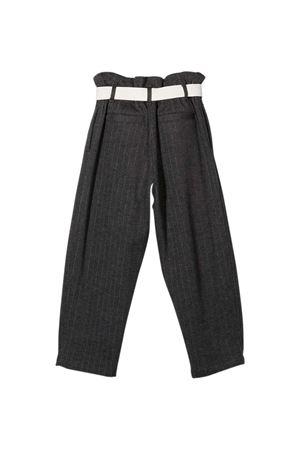Brunello Cucinelli Kids teen pinstriped trousers Brunello Cucinelli Kids | 9 | BA179E418C001T