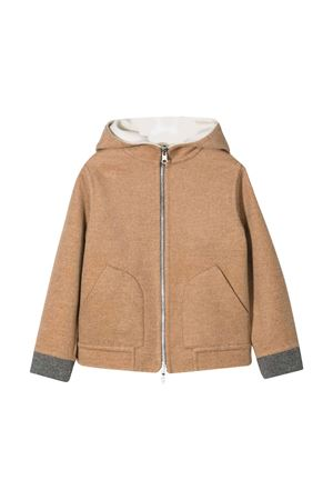 Brown jacket teen Brunello Cucinelli kids  Brunello Cucinelli Kids | 13 | BL454K501C135T