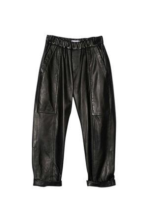 Pantaloni nero teen Brunello Cucinelli Kids Brunello Cucinelli Kids | 9 | BPTANP020BC101T