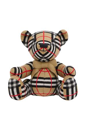 Peluches con stampa vintage check Burberry kids BURBERRY KIDS | 1737628459 | 8026815A7026