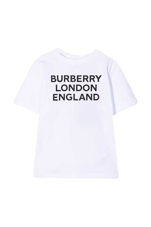White t-shirt with multicolor print Burberry kids BURBERRY KIDS | 8 | 8028811A1464