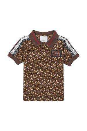 T-shirt logata baby Burberry kids BURBERRY KIDS | 8 | 8030062A7436