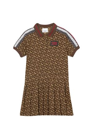 Brown logo dress Burberry kids BURBERRY KIDS | 11 | 8030066A7436