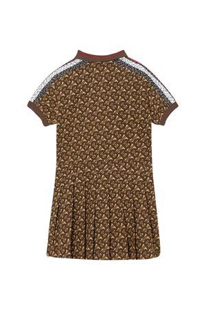 Brown logo dress Burberry kids BURBERRY KIDS | 11 | 8030066A7436