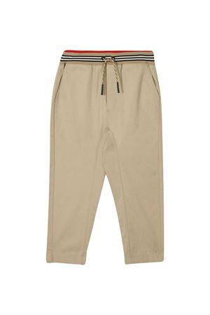 Beige trousers Burberry kids BURBERRY KIDS | 9 | 8030128A1366