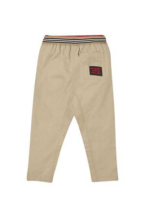 Beige trousers Burberry kids BURBERRY KIDS   9   8030128A1366