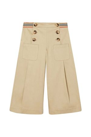 Beige teen trousers Burberry kids BURBERRY KIDS | 9 | 8030320A1366T