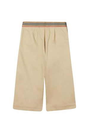 Pantaloni beige con bottoni Burberry kids BURBERRY KIDS | 9 | 8030320A1366