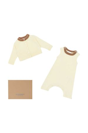 Baby set with print Burberry kids BURBERRY KIDS | 75988882 | 8030654A1452