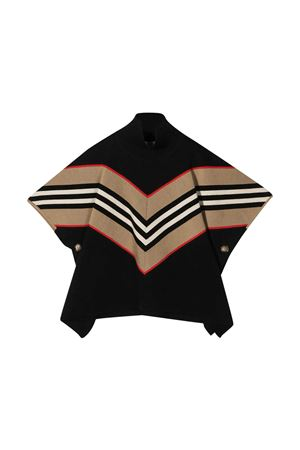 Poncho nero Burberry Kids BURBERRY KIDS | 52 | 8031405A1189
