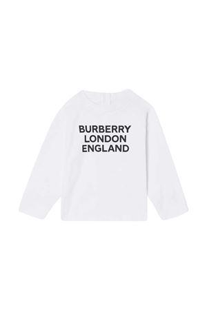 Newborn white sweatshirt Burberry Kids BURBERRY KIDS | 7 | 8031669A1464