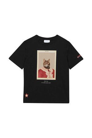 Black teen t-shirt Burberry Kids  BURBERRY KIDS | 8 | 8031823A1189T