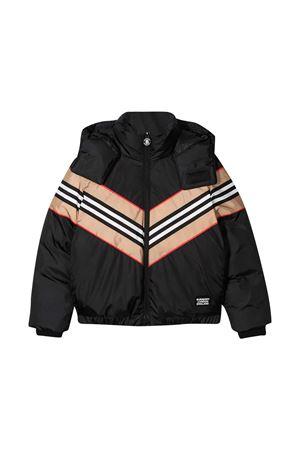 Burberry Kids black teen down jacket  BURBERRY KIDS   13   8032744A1189T