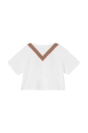 T-shirt bianca teen Burberry Kids BURBERRY KIDS | 8 | 8032883A1464T