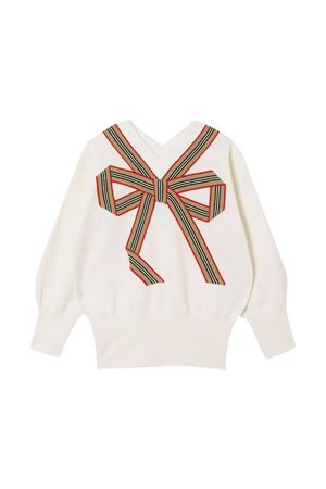 White Burberry Kids sweater  BURBERRY KIDS | 7 | 8033055A1452