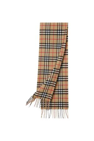 Brown vintage striped scarf Burberry kids BURBERRY KIDS | 77 | 8015162A7026
