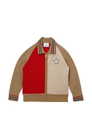 Maglia con ricamo logo Burberry kids BURBERRY KIDS | 7 | 8029958A7026