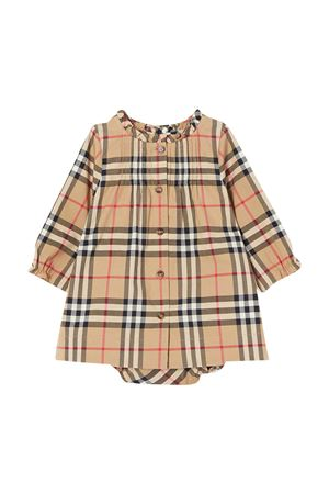 Brown vintage dress with ruffles Burberry kids BURBERRY KIDS | 11 | 8030383A7028