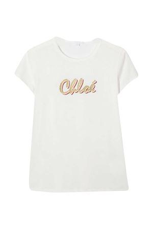 T-shirt bianco Chloé Kids CHLOÉ KIDS | 8 | C15B30117