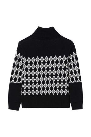 Marine diamond knit sweater Chloé kids  CHLOÉ KIDS | 7 | C15B55859