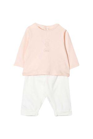 Completo bianco e rosa Chloé Kids CHLOÉ KIDS | 42 | C9K194117