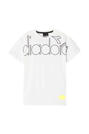 T-shirt bianca teen Diadora Junior DIADORA JUNIOR | 8 | 025449001T