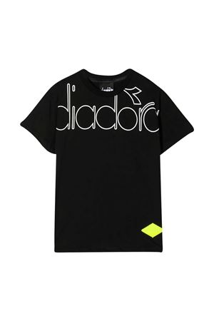 T-shirt nera teen Diadora  junior DIADORA JUNIOR | 8 | 025449110T