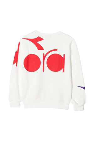 Diadora Junior white sweatshirt  DIADORA JUNIOR | -108764232 | 025721001