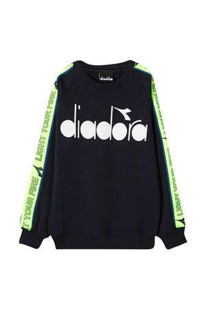 Felpa blu Diadora Kids DIADORA JUNIOR | -108764232 | 025840060