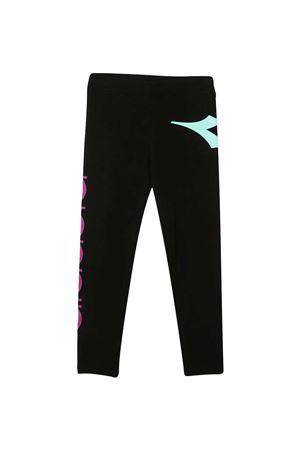 Black sport pants teen Diadora Junior DIADORA JUNIOR | 5032349 | 026256110T