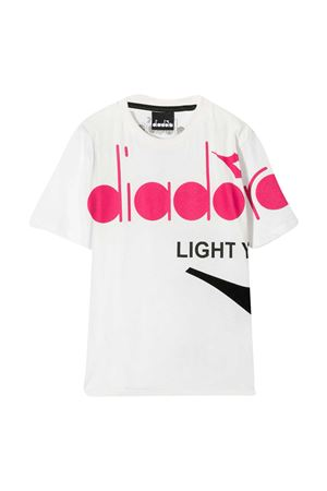 T-shirt bianca teen Diadora Junior DIADORA JUNIOR | 8 | 026318001T