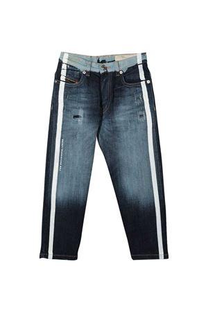 Blue jeans teen with white side bands Diesel kids DIESEL KIDS   9   00J3RLKXB5VK01T