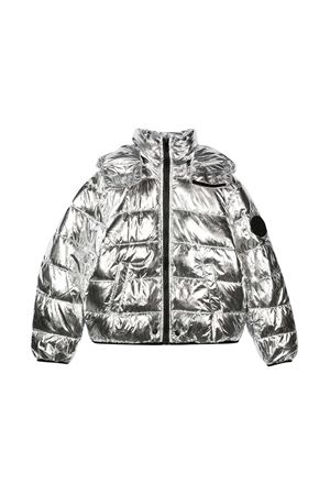 Silver teen jacket with hood and zip Diesel kids DIESEL KIDS | 3 | 00J4XRKXB40K90AT