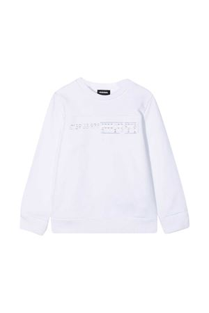 White sweatshirt Diesel Kids  DIESEL KIDS | -108764232 | 00J4YR0IAEGK100