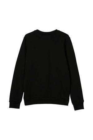Black teen sweatshirt with frontal press Diesel kids DIESEL KIDS | -108764232 | 00J4YR0IAEGK900T