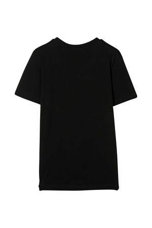 T-shirt teen nera con logo bianco frontale Diesel kids DIESEL KIDS   8   00J50W00YI9K900T