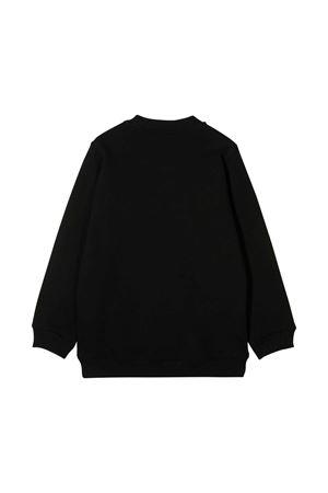 Black sweater with frontal press Diesel kids DIESEL KIDS | -108764232 | 00J51A0IAJHK900