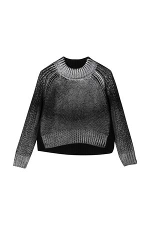 Black crewneck sweater teen Diesel kids DIESEL KIDS | 7 | 00J51SKYAQ6K900T