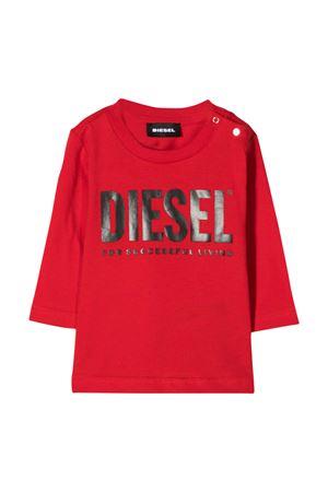 Red t-shirt with frontal logo Diesel kids DIESEL KIDS | 8 | 00K26K00YI9K457