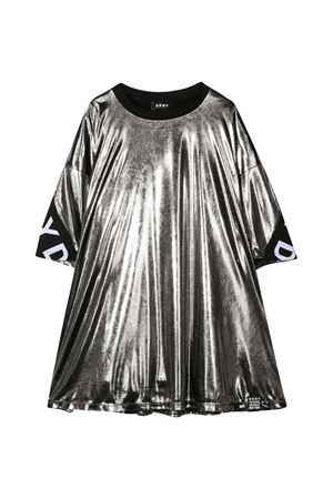 Metallic effect gray dress Dkny Kids  DKNY KIDS | 11 | D32762016