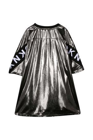 Vestito grigio effetto metallizzato teen Dkny Kids. DKNY KIDS | 11 | D32762016T
