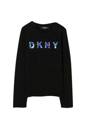 T-shirt nera Dkny Kids DKNY KIDS | 8 | D35Q7809B