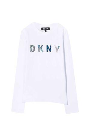 White teen t-shirt Dkny Kids  DKNY KIDS | 8 | D35Q7810BT